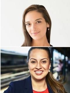 Colombianas aspiran a ser senadoras en Nueva York.
