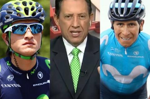 Winner Anacona Óscar Rentería Nairo Quintana