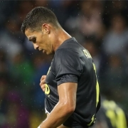 Zlatko Dalic y Cristiano Ronaldo