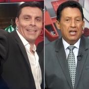 Víctor Hugo Peña y Óscar Rentería