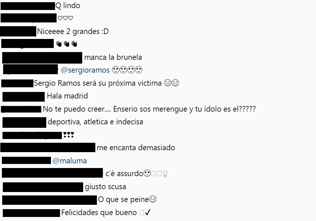 Comentarios Maluma