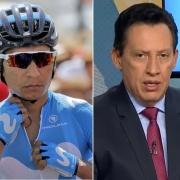 Nairo Quintana y Óscar Rentería