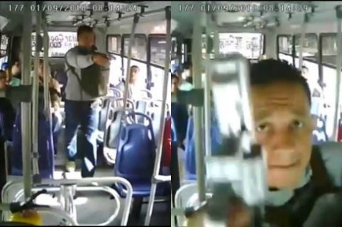 Video del robo en Medellín