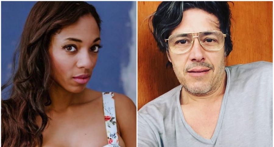 Nina Caicedo, actriz. / Mario Duarte, actor y músico.