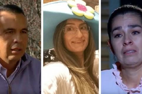 Fernando López, Claudia Rodríguez y Liliana Rodríguez
