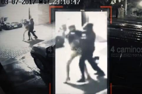 Video de agresión a Claudia Rodríguez