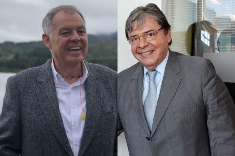 Alejnador Ordóñez y Carlos Holmes Trujillo