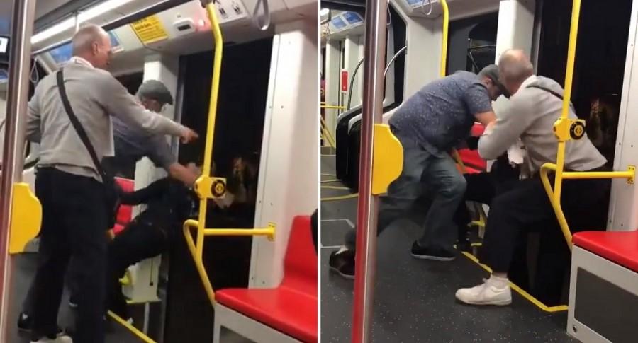 Incidente en tren de San Francisco