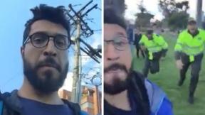 Video viral policías