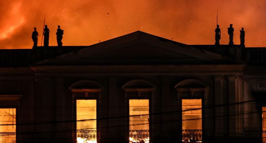 Incendio del Museo Nacional de Brasil