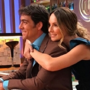 Chris Carpentier y Claudia Bahamón
