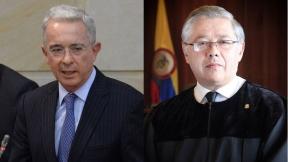 Álvaro Uribe y José Luis Barceló