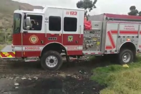Carro de Bomberos de Bogotá