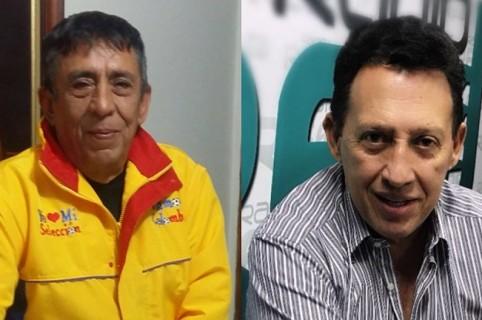 'Rubencho' Arcila y Óscar Rentenría