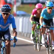 Colombianos en La Vuelta