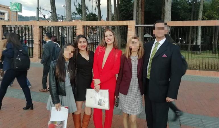Foto de la familia Meléndez Lozano