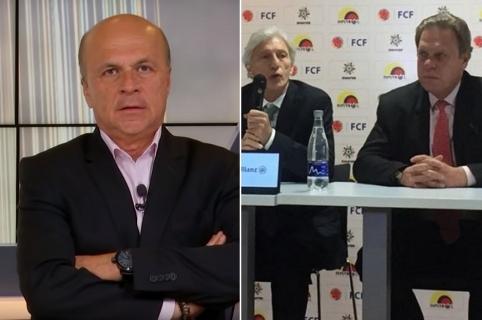 Carlos Antonio Vélez, Jo´se Pékerman y Ramón Jesurún
