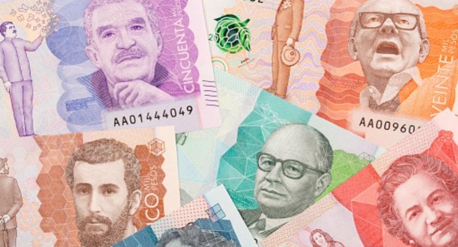 Nuevos billetes colombianos