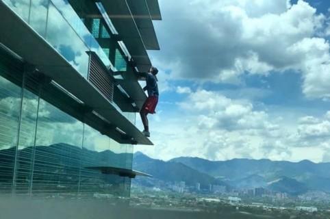 Hombre araña ruso