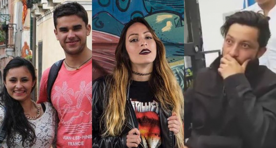 Daniela Melendéz, Juan Esteban Sedano, Irlanda Meléndez y Julián Téllez
