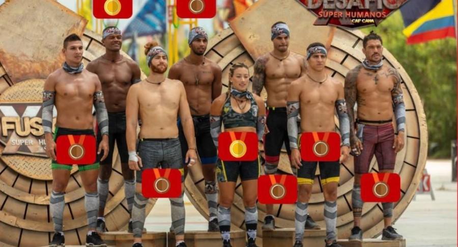 Diego, Lucumí, 'Rojo', 'Olímpico', Camila, Shadi, Santiago y 'Be', participantes del 'Desafío' 20