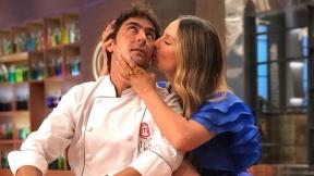 Claudia Bahamón y Chris Carpentier