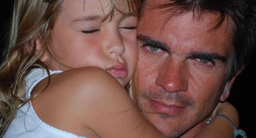 Juanes y su hija Luna