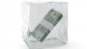 Dinero congelado