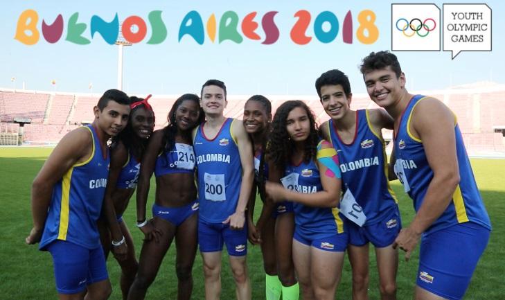 Deportistas colombianos en Juegos Olímpicos de la Juventud