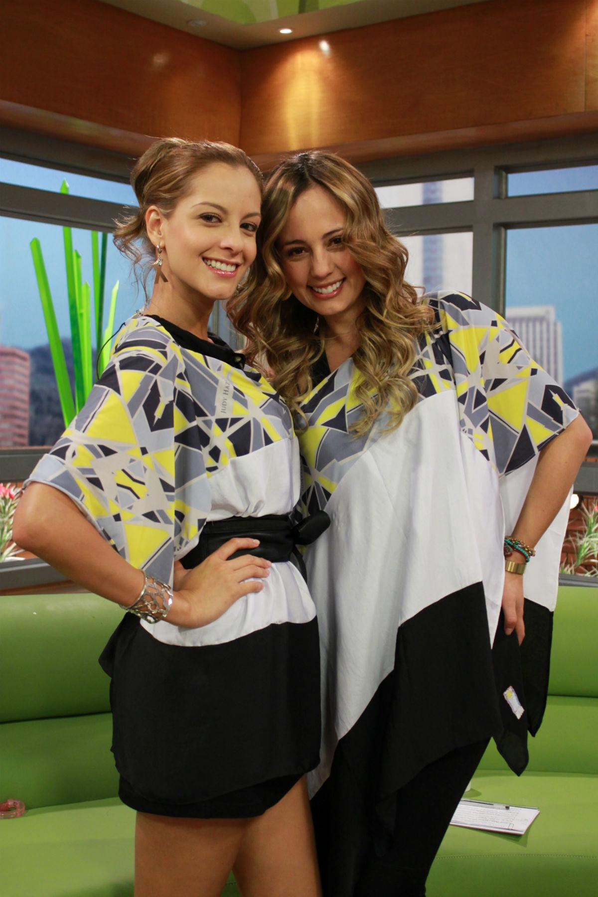 Laura Acuña y Milena López