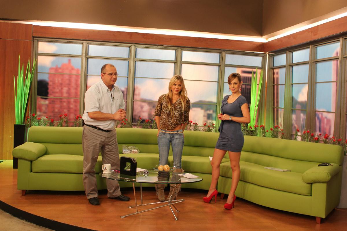 Jota Mario, Natalia París y Milena López