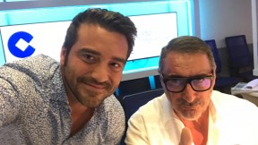 Javier Negre y Carlos Herrera