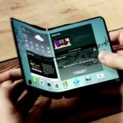 Celular flexible de Samsung