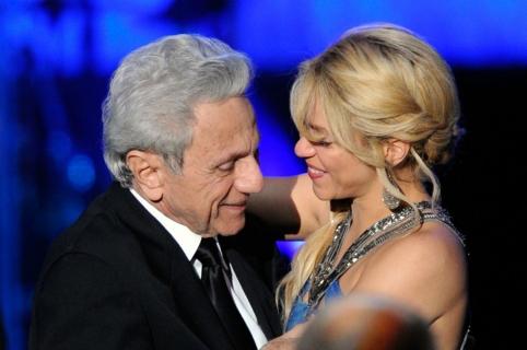 William Mebarak y Shakira