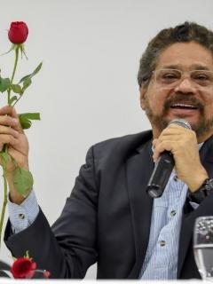 'Iván Márquez', exjefe de las Farc