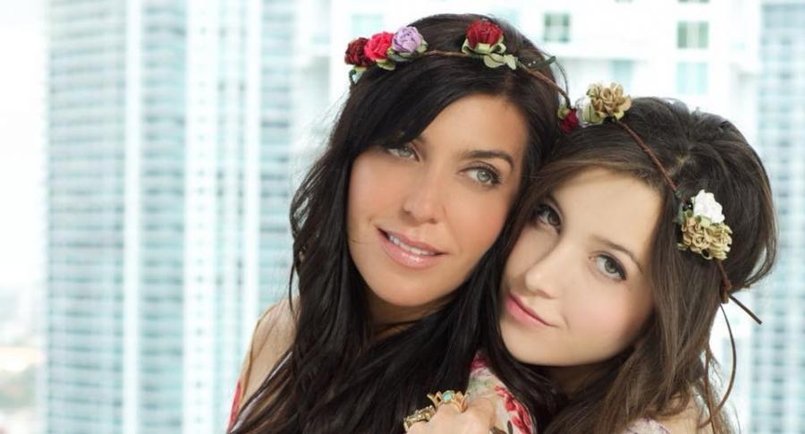 Isabella Santodomingo y Daniela Ossa