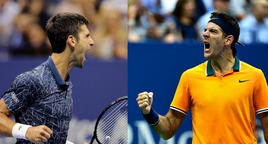 Djokovic y Del Potro