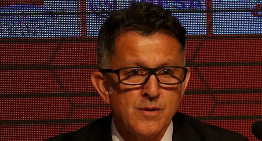 Presentación del colombiano Juan Carlos Osorio como técnico de la selección paraguaya