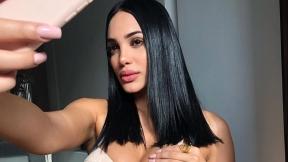 Andrea Valdiri, modelo y bailarina.