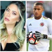 Daniela Tamayo y Cristian Bonilla