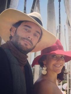 Cristina Umaña y Lucas Jaramillo