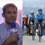 Santiago Botero, Miguel Ángel López y Nairo Quintana