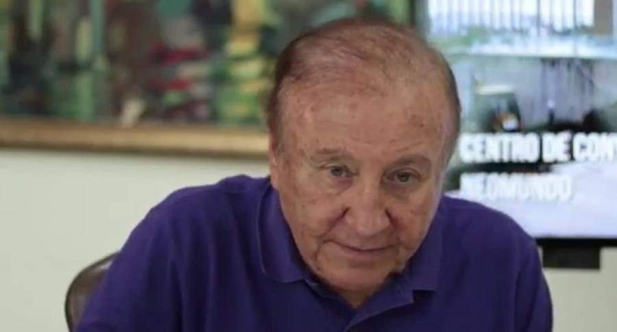 Rodolfo Hernández, alcalde de Bucaramanga.