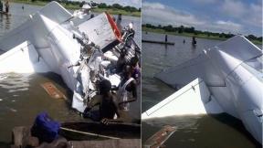 accidente de avión en Sudán