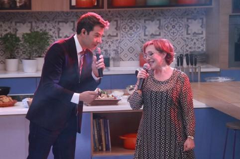 Iván Lalinde y Yaneth Waldman, presentadores.