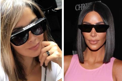 Andreína Fiallo y Kim Kardashian