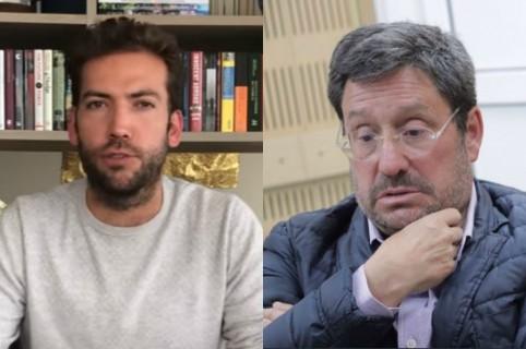 Martín Santos y Pacho Santos
