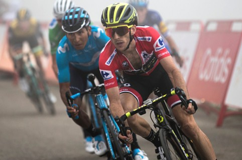 Simon Yates y Nairo Quintana