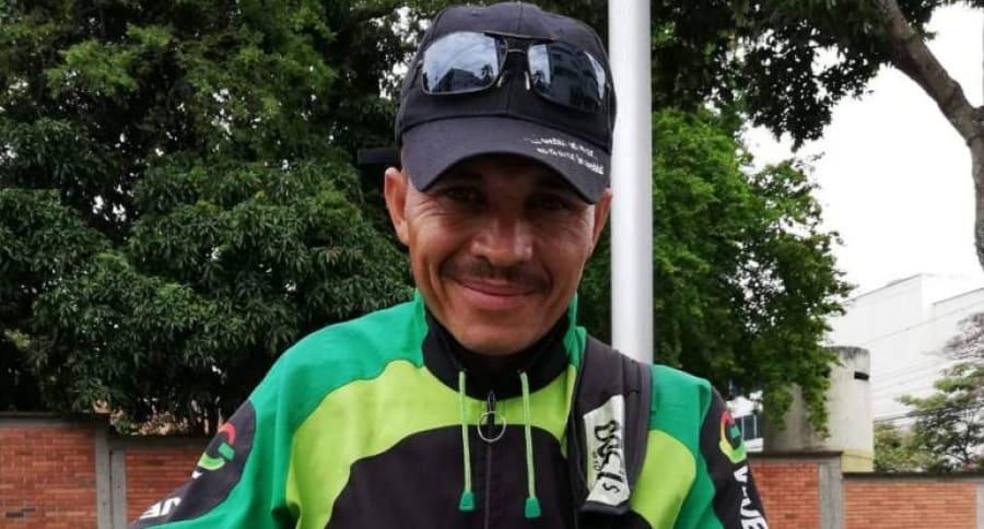 Pedro Ojeda, vendedor ambulante venezolano