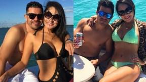 Piter Albeiro y Carolina Rojas